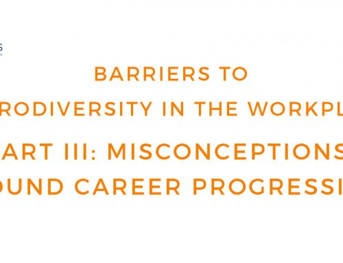 Unconscious Biases – Career Progression for People on the Autism Spectrum